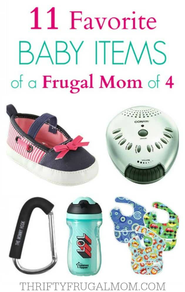 A Frugal Mom's Favorite Baby Items- must have baby gear and aids