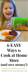 6 Easy Ways to Cook at Home More (and save money!)