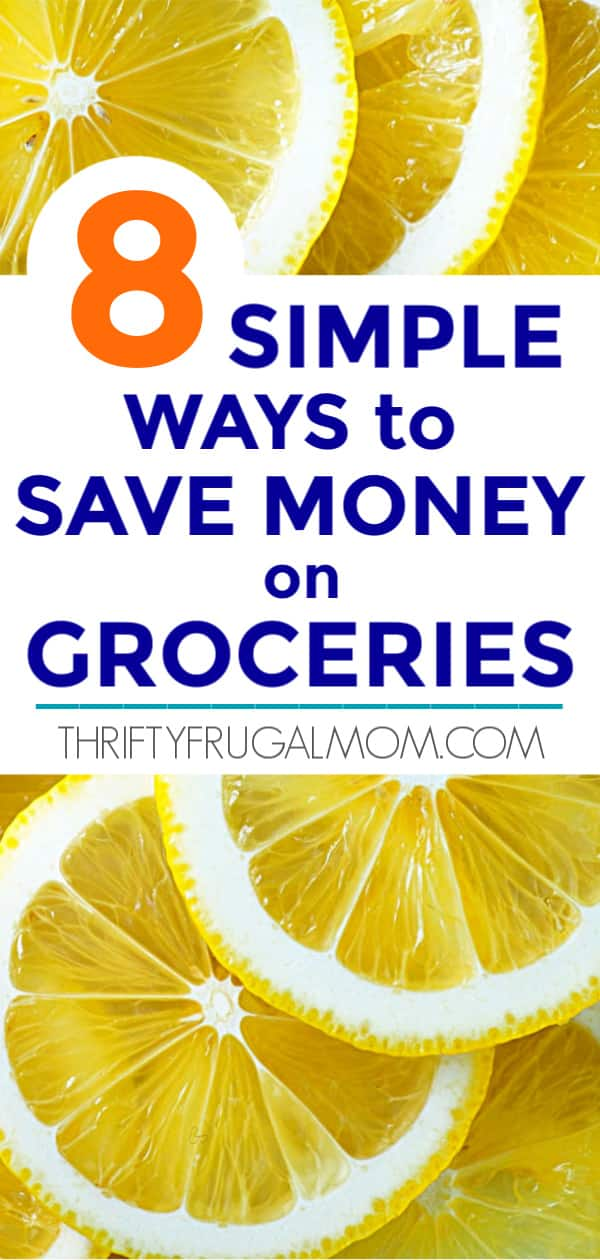 simple ways to save money on groceries