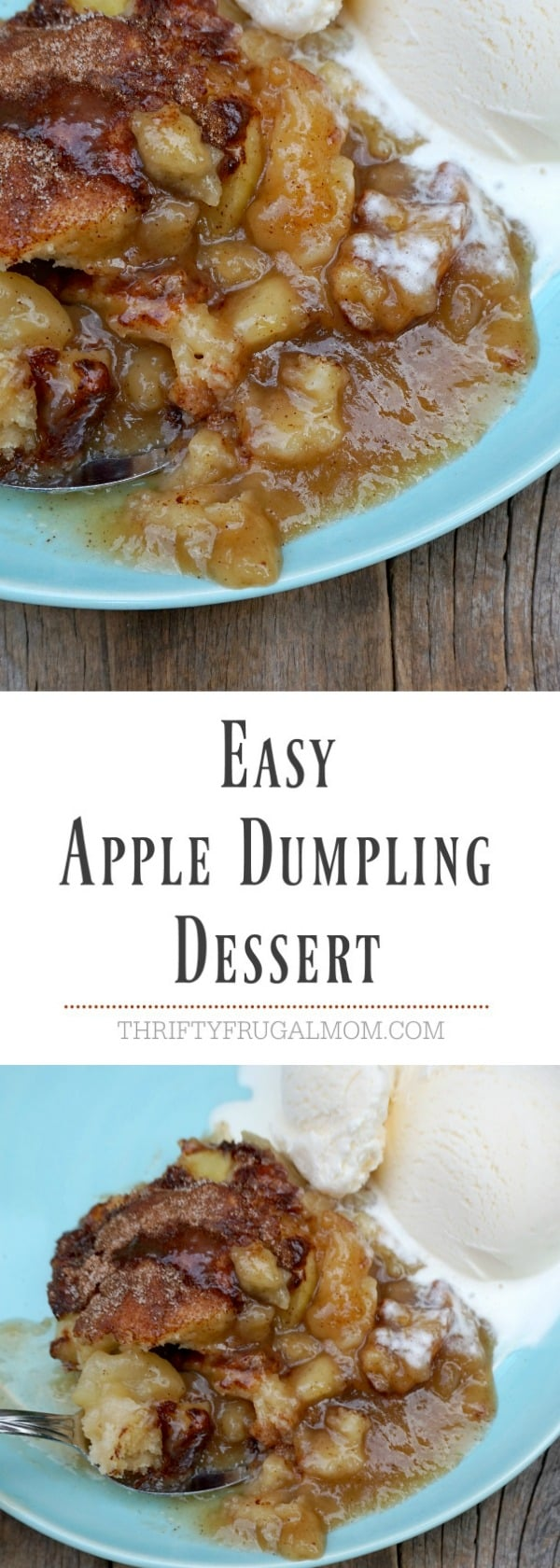 Easy Apple Dumpling Dessert- a great homemade apple dumpling recipe