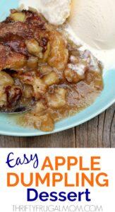 Easy Apple Dumpling Dessert