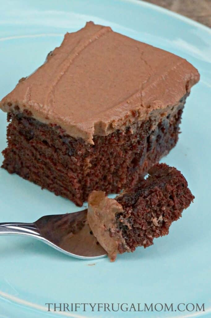 Best Ever Chocolate Cake Recipe - egg free cake