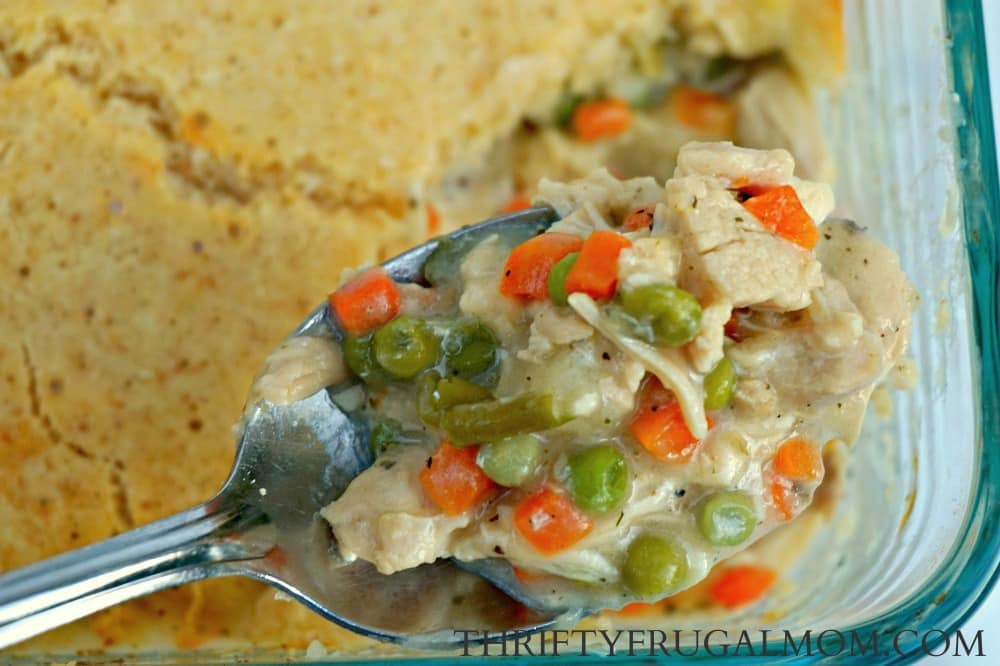 Easy Chicken Pot Pie- a quick dinner recipe