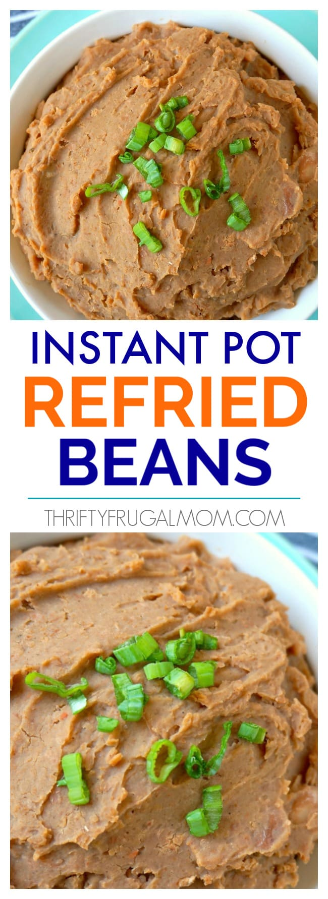 Homemade Refried Beans in Instant Pot