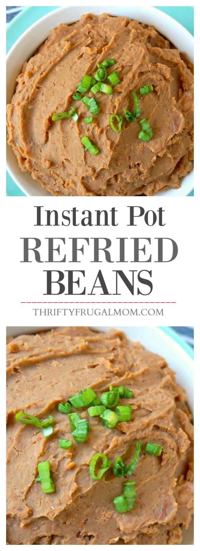 Refried Beans Instant Pot