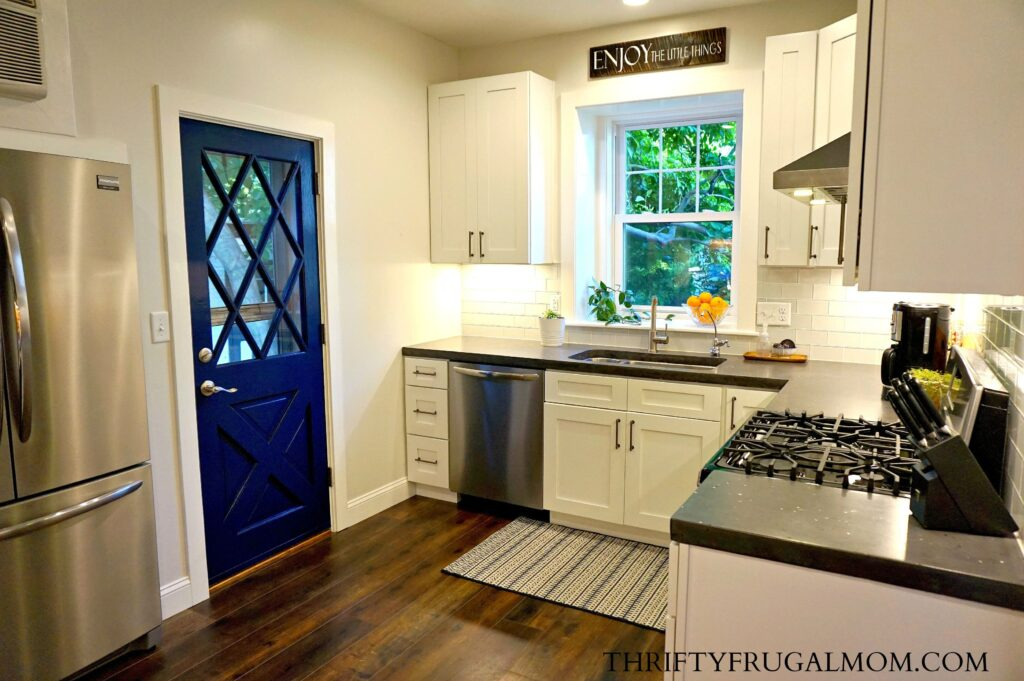 Budget Friendly Classic White Kitchen Remodel All The Details New Cheap Kitchen Remodel Ideas