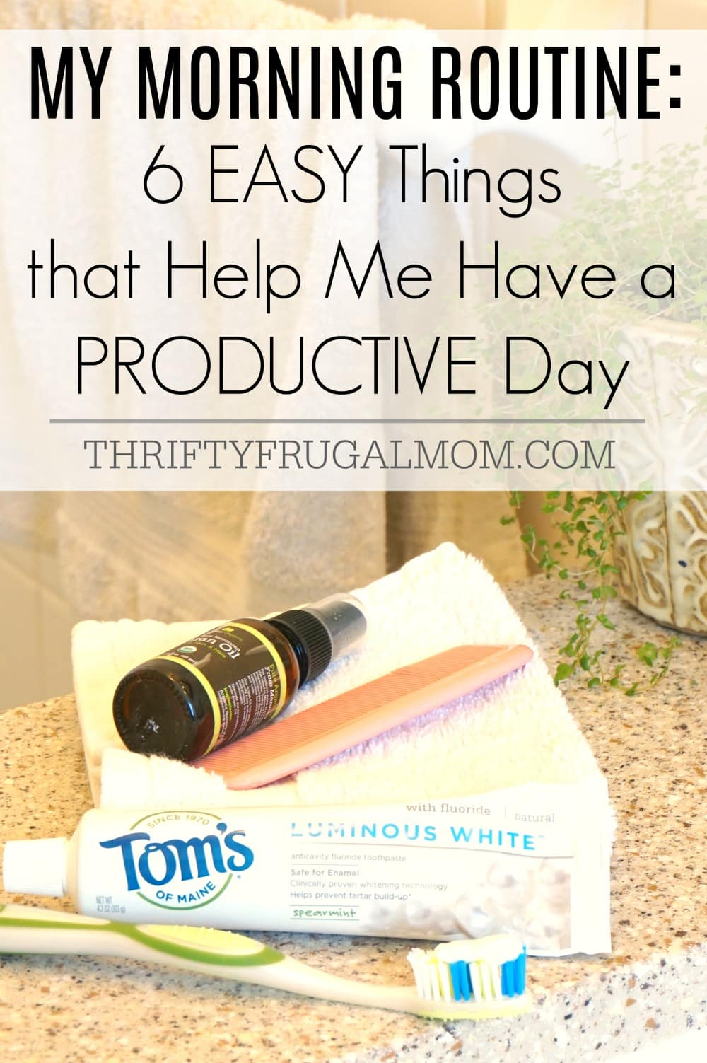One of the easiest ways to have a productive day is by establishing a good morning routine. Doing these 6 simple things makes such a difference for me!