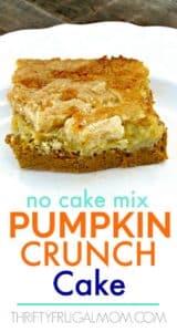 The Best Pumpkin Crunch Cake