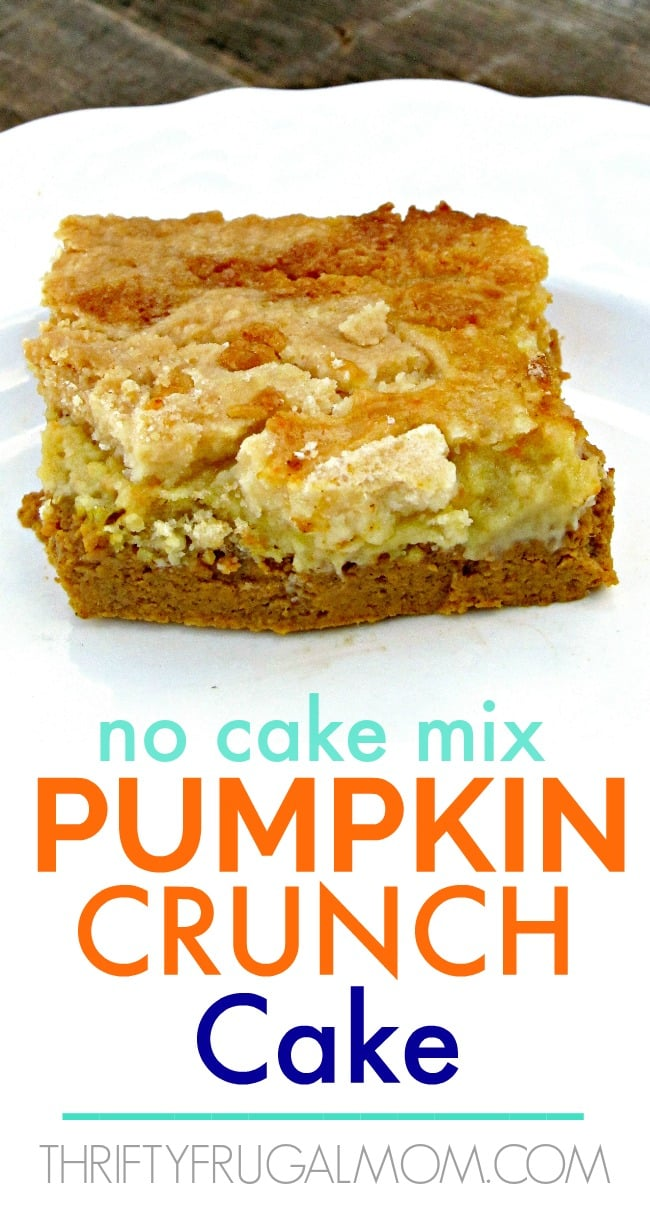 pumpkin crunch recipe without cake mix