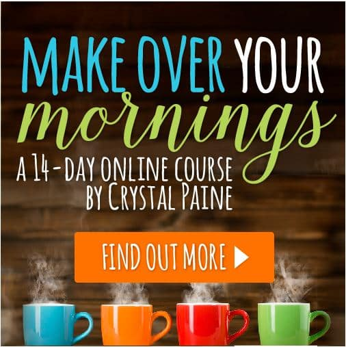 Make Over Your Morning- time saving course