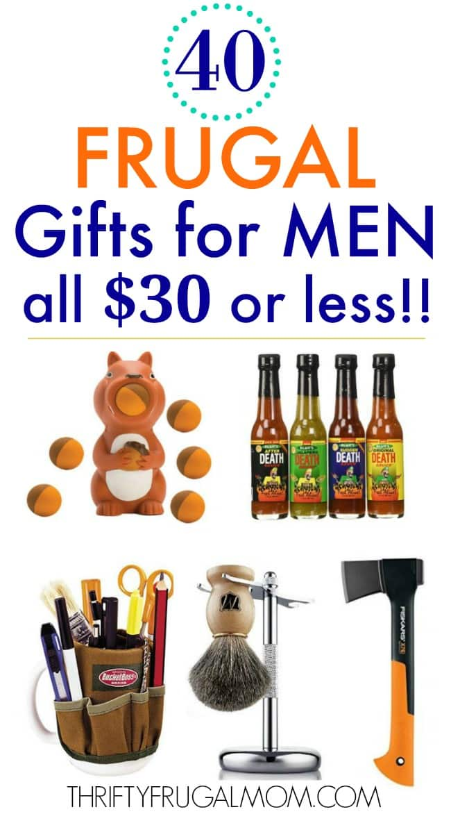 frugal gifts for men