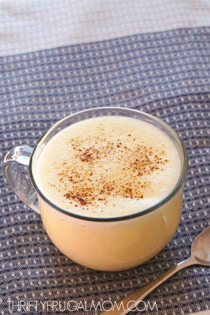Warm Vanilla Custard Drink recipe