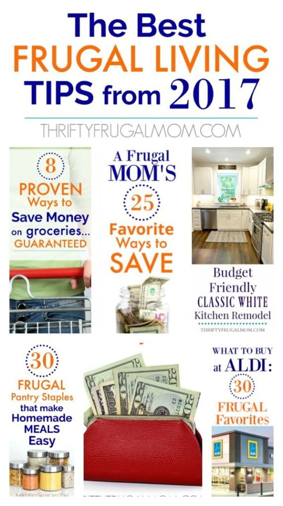 Best Frugal Living Blog Posts- great ideas for ways to save