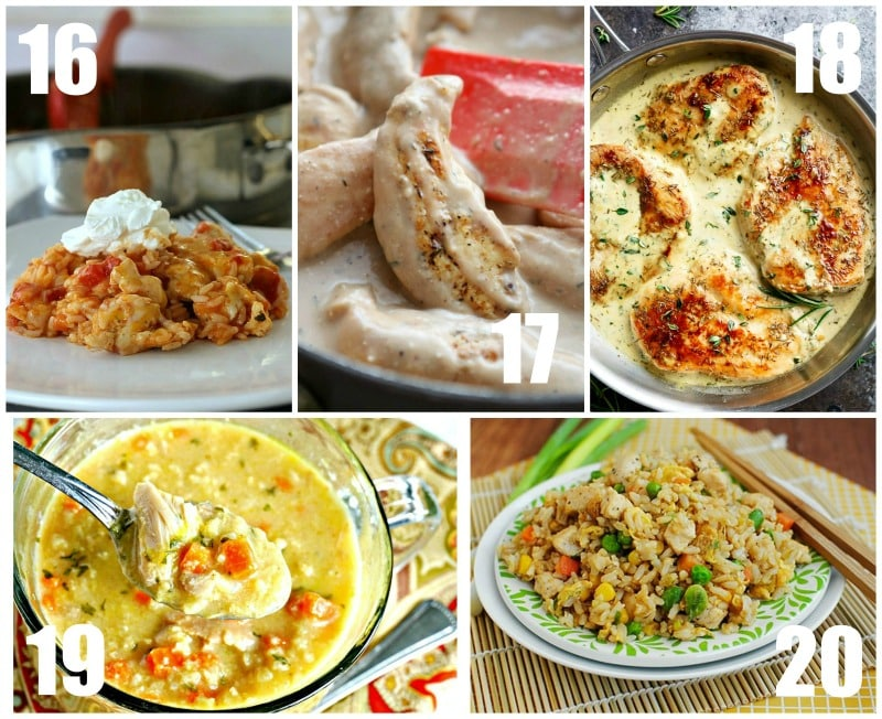 Quick and Easy Chicken Breast Recipes