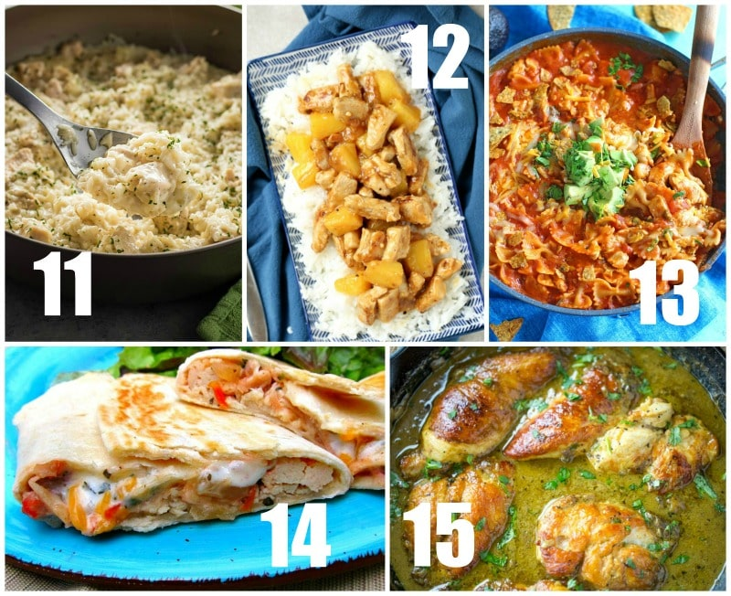 Quick and Easy Chicken Recipes for Dinner