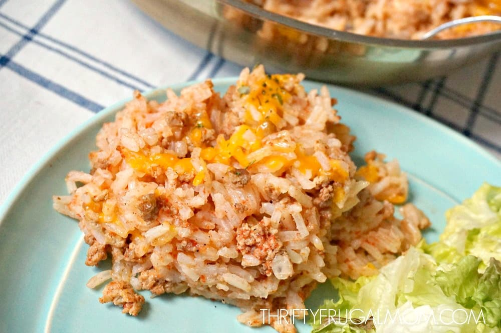 Ground Beef and Rice Recipe