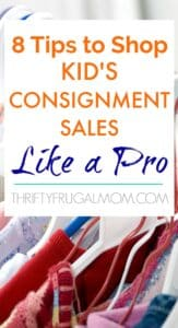 8 Tips to Shop Kid's Consignment Sales Like a Pro