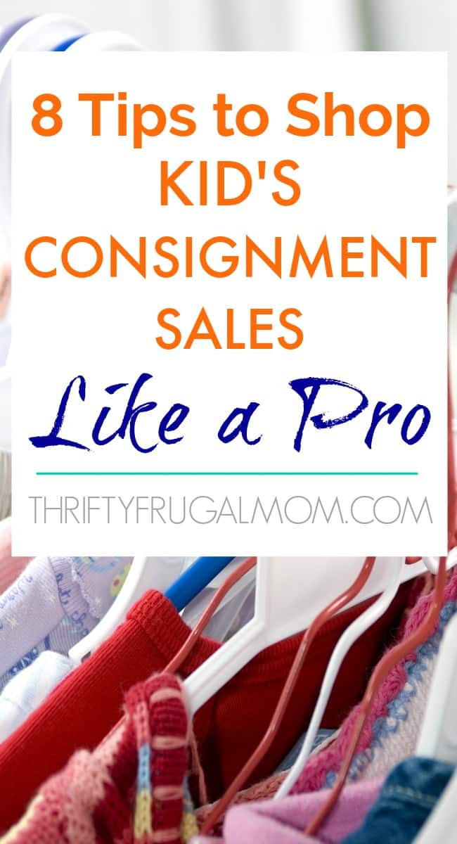 Tips to Shop Kid's Consignment Sales