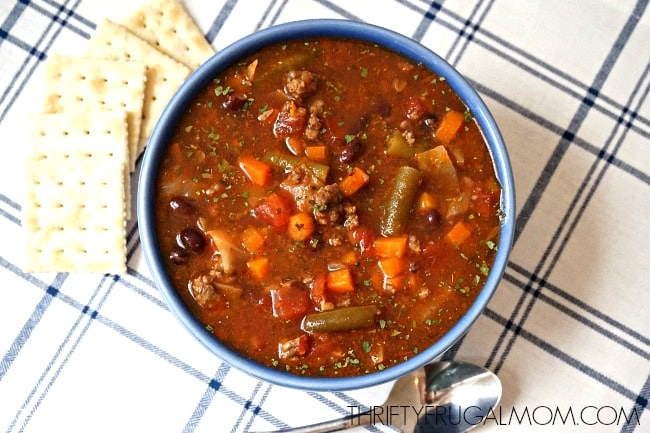 Recipe for Vegetable Soup