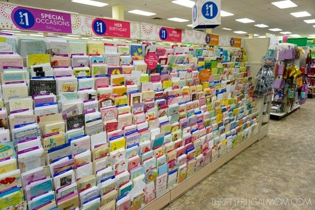 Cheap Greeting Cards at Dollar Tree