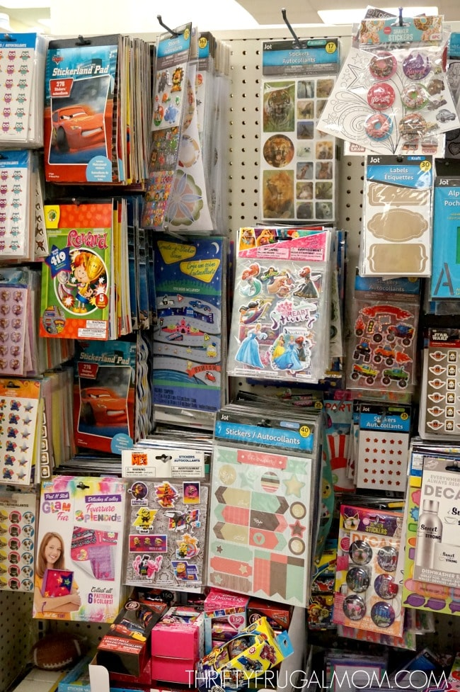 Craft Supplies at Dollar Tree