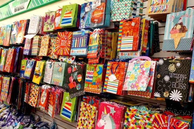 Dollar Tree Deals- Gift supplies