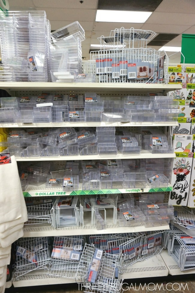 Dollar Tree Supplies to Organize