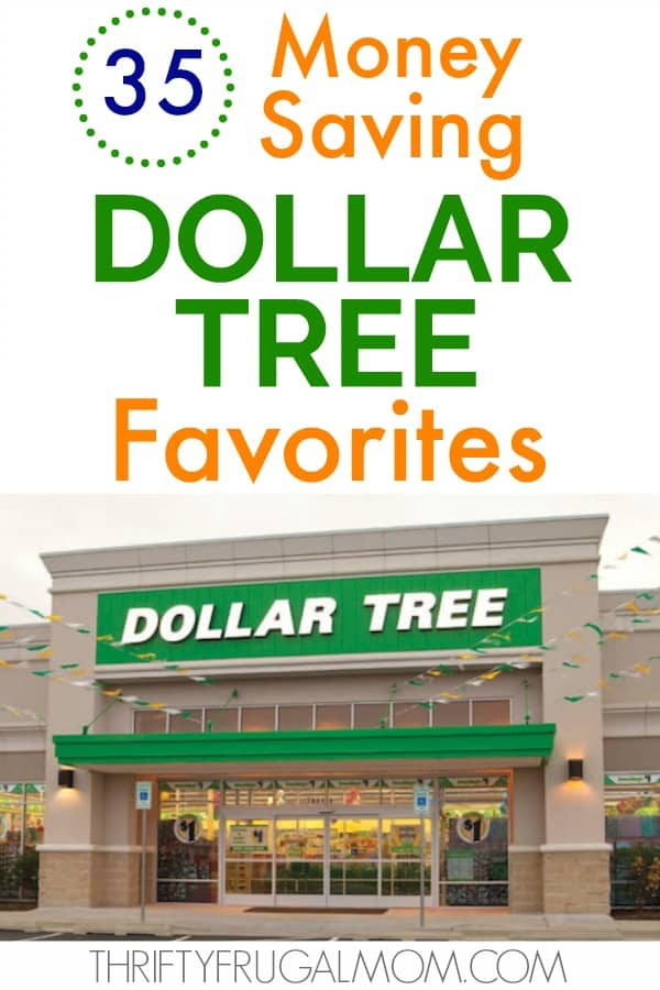 What to buy at Dollar Tree- money saving favorites