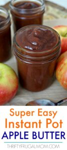 Super Easy Instant Pot Apple Butter (includes slow cooker instructions)