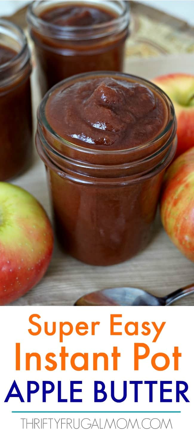 Instant Pot Apple Butter Recipe
