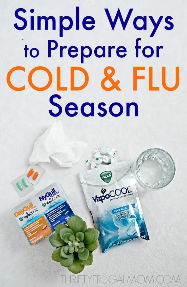 Simple Ways to Prepare for Cold and Flu Season
