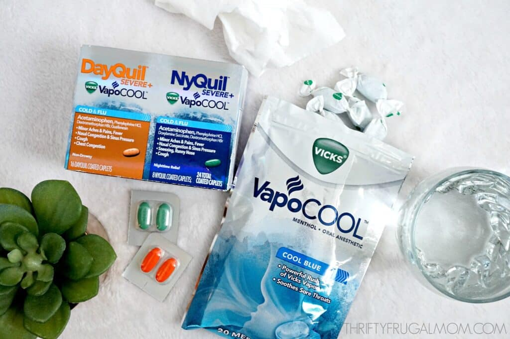 ways to prepare for cold and flu season with Vicks