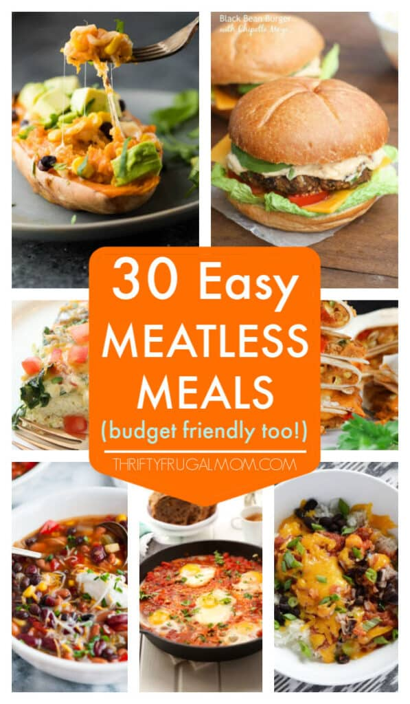 easy meatless meals