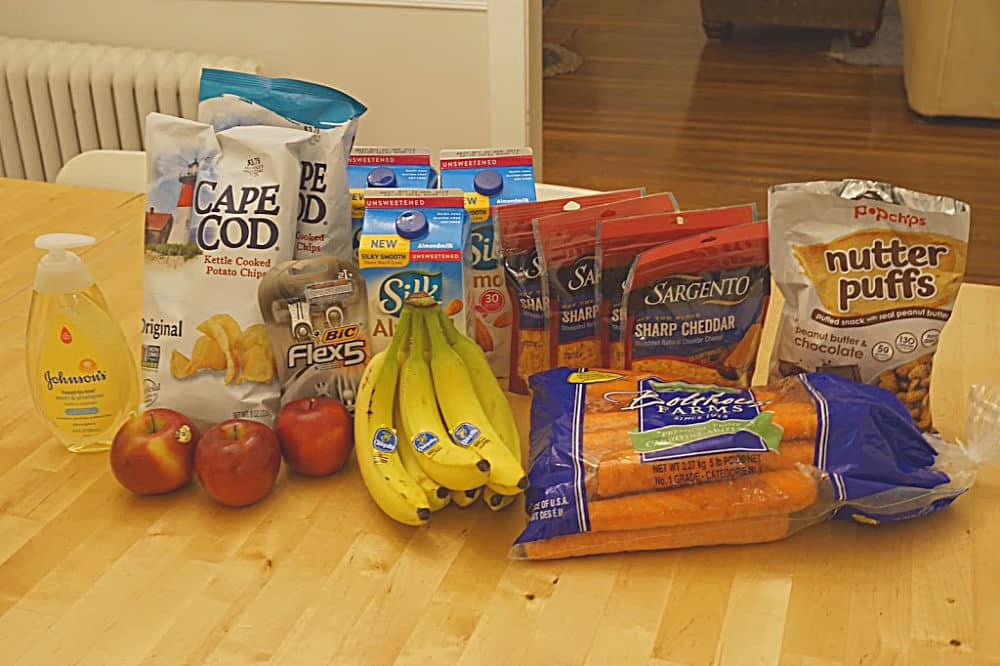 my grocery deal haul- frugal mom