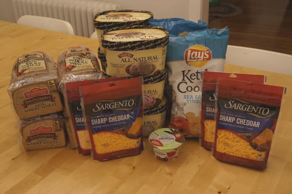 grocery haul deals for family