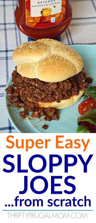 Super Easy Sloppy Joes