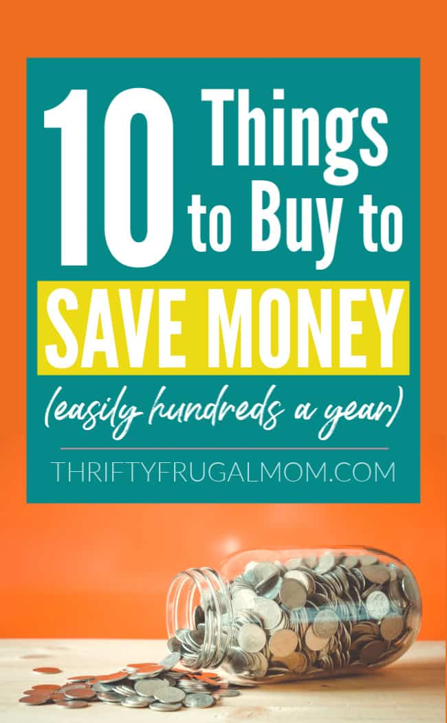 things to buy to save money in the long run